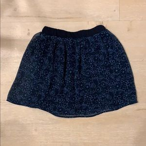 Toddler girl comme ca ism skirt Japan
